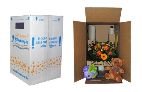 Versand-Verpackung bei Blumenfee.de