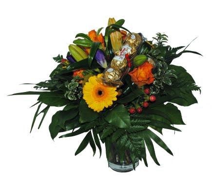 Blumenstrauss mit kostenloser Vase